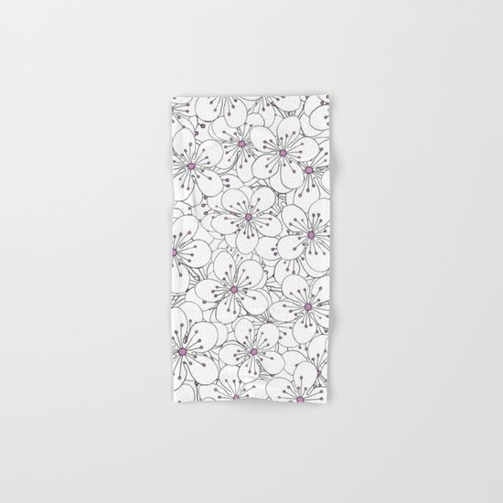 Cherry Blossom Pink - In Memory of Mackenzie Hand & Bath Towel