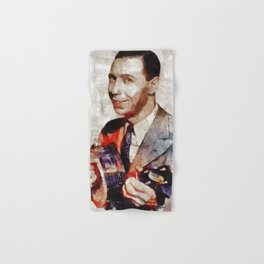 George Formby, Music Legend Hand & Bath Towel