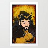 Thorin Sickness Art Print