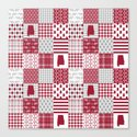 Alabama bama crimson tide cheater quilt state college university pattern footabll by varsity