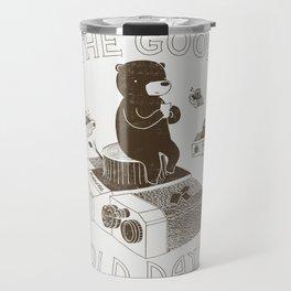The Good Old Days Travel Mug
