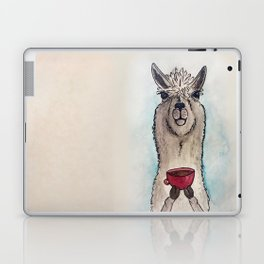 Just a Llama & His Latte Laptop & iPad Skin