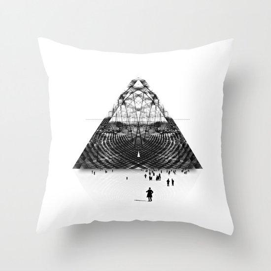 Darkside  Throw Pillow