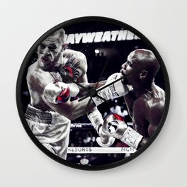Two legends Wall Clock