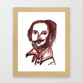 Shakespeare Framed Art Print