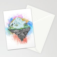 Winter Island Stationery Cards