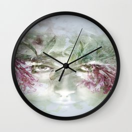 The Nymph Wall Clock