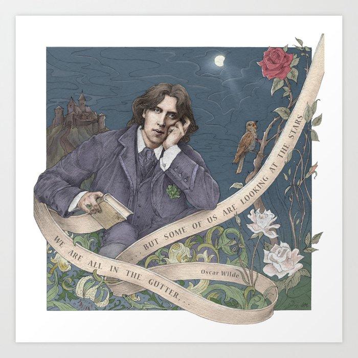 Oscar Wilde poster for college dorm room