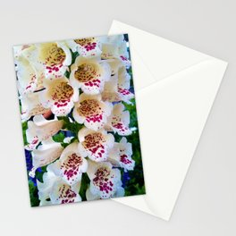 Lovely Spotted Flowers Stationery Cards