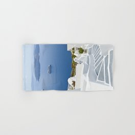 The Perfect Santorini Life Hand & Bath Towel