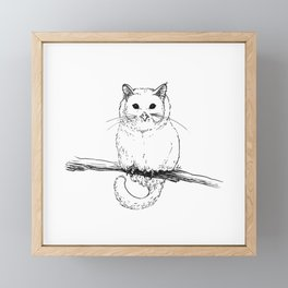 Owlcat Framed Mini Art Print