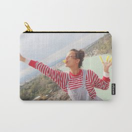 holy river flows happily Carry-All Pouch