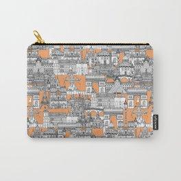 Paris toile cantaloupe Carry-All Pouch