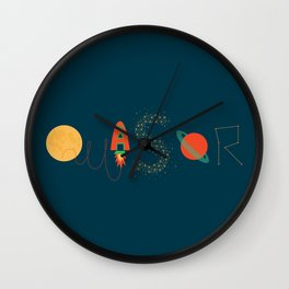 Quasar Wall Clock