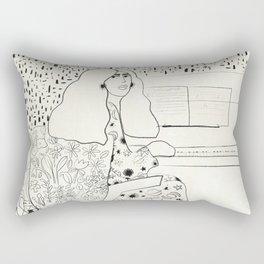 Sound of fingertips Rectangular Pillow