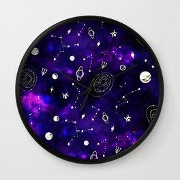 Uranus Neptunus pattern Wall Clock
