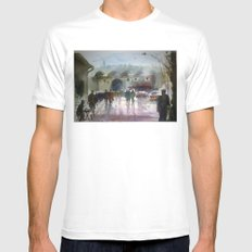 ISTANBUL Mens Fitted Tee White MEDIUM