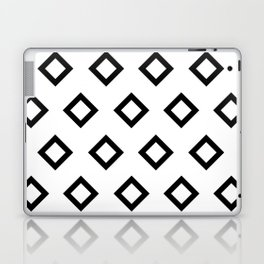 Diamonds White Laptop & iPad Skin