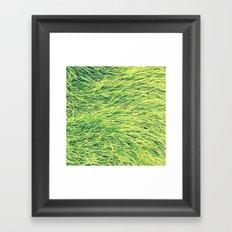 Turf. Framed Art Print