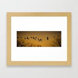 The Long Journey Home Framed Art Print