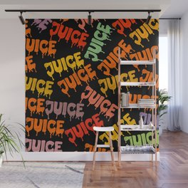 Juice Assortment Wall Mural