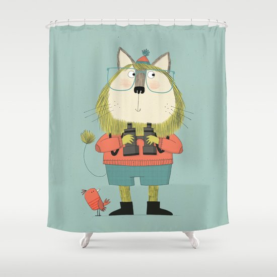 Twitcher Shower Curtain