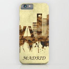 Madrid Spain Cityscape iPhone Case