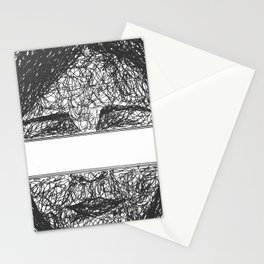 seeing the unknown  Stationery Cards