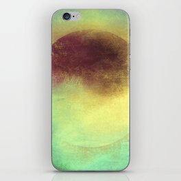 Circle Composition III iPhone Skin
