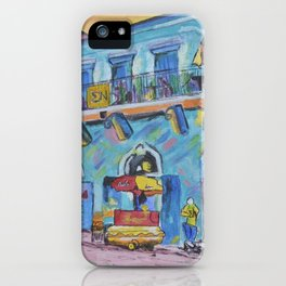 Old Absinthe House on Bourbon St iPhone Case