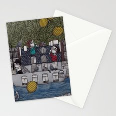 Yellow Balloons Stationery Cards