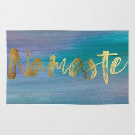 Namaste, Ocean Mermaid 1 Rug