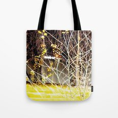 Nature finds the way inside... and outside... Everywhere! Tote Bag