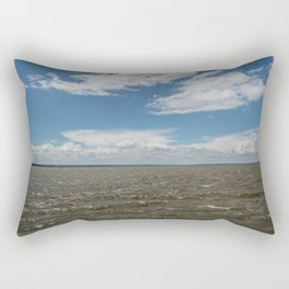 orleans island #8 Rectangular Pillow
