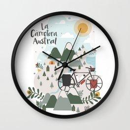 La Carretera Austral Wall Clock