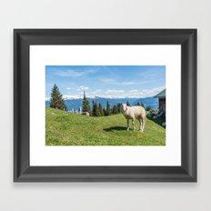 Me, the Sheeple?! Framed Art Print