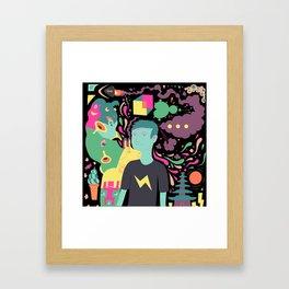 Dot Dot Dot Framed Art Print