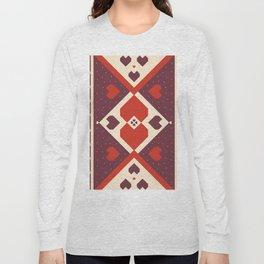 native tribal love Long Sleeve T-shirt