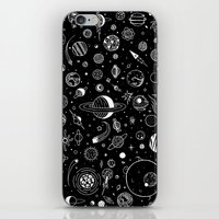 planets iPhone & iPod Skins featuring Planets by Smith and Ford