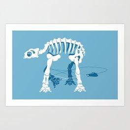 AT-ATACK! Art Print