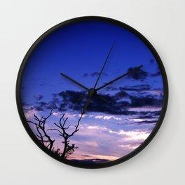 Sunset Tree Wall Clock