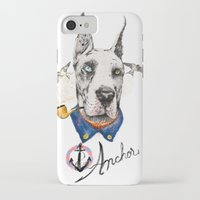great dane iPhone & iPod Cases featuring Mr. Great Dane by dogooder