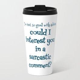 Advice Travel Mug