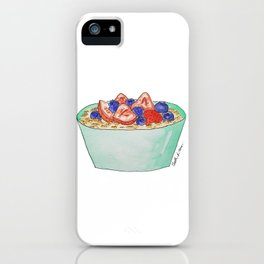 O is for Oatmeal iPhone Case