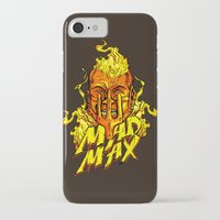 mad iPhone & iPod Cases featuring Mad by Demonigote