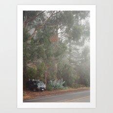 Pacific Coast Highway 1.4 Art Print