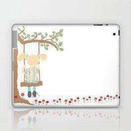 On the Swing, In the Tree Laptop & iPad Skin