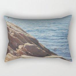 Over the Cliff Rectangular Pillow