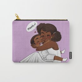 Mommy's Kisses Carry-All Pouch