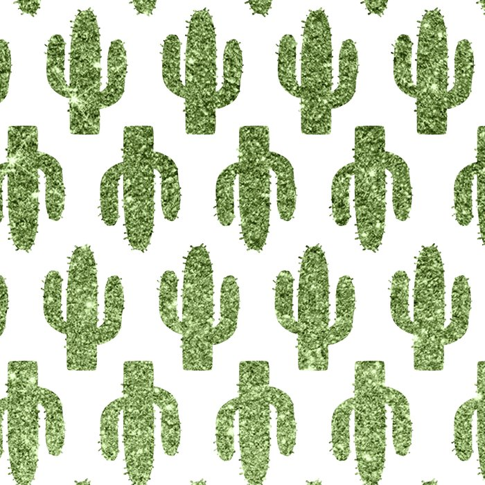 Glitter Cacti Leggings